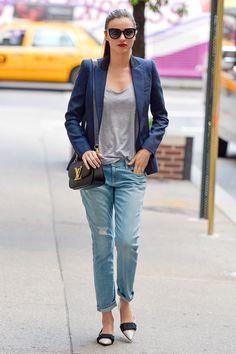 mirandakerr, miranda kerr, celebrities fashion, boyfriend jeans, web design