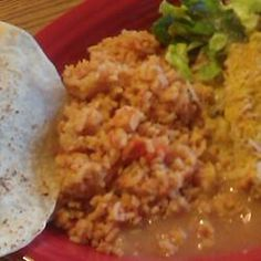 Spanish Rice Lela Style-Rice just like the kind served in Mexican Restaurants