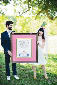 Whimsy Carnival #Wedding Guest Frame