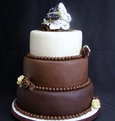 8 Extreme Chocolate Wedding Cakes
