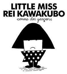 Little Miss Rei Kawakubo, Comme des Garçons