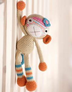 Monkey girl, de Mari-Liis Lille. http://www.ravelry.com/patterns/library/monkey-girl