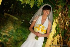 Sweet Yellow and White Bridal Bouquet - The French Bouquet - Artworks Tulsa Photography