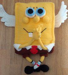 SpongeBob - free crochet pattern