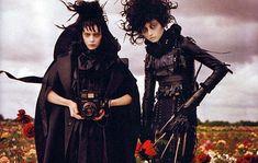 scissorhands / lydia deetz vogue, houses, editorial, tim walker, tim burton, fashion photography, art timburtontimwalkerjpg, black, happy halloween