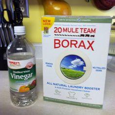 Ceramic tile grout cleaner! Borax & White Vinegar.