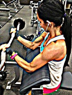 Bicep workout!