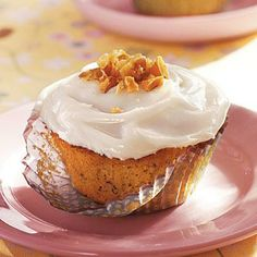 Banana Cupcakes with Cream Cheese Frosting -- Cooking light