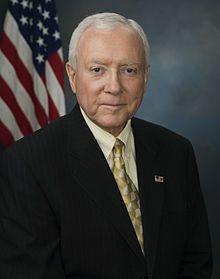 Orrin Hatch, U.S. Senator from Utah. (BYU)