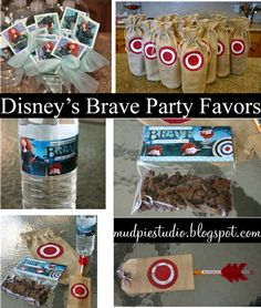 Disney Brave Birthday Party  smallworldbigfun.com  #disney #disneyparty #smallworldbigfun