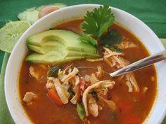Chicken Tortilla(less) Soup