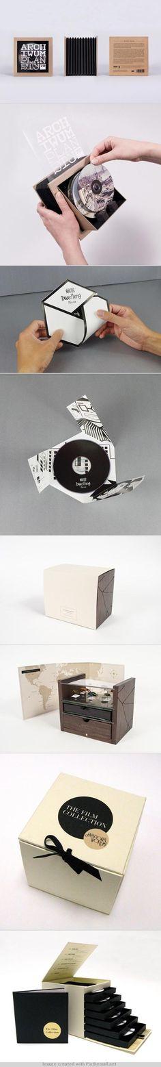 CD DVD package design