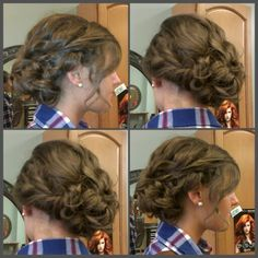 Prom/Honecoming updo