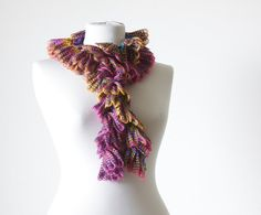 Women Crochet Scarf