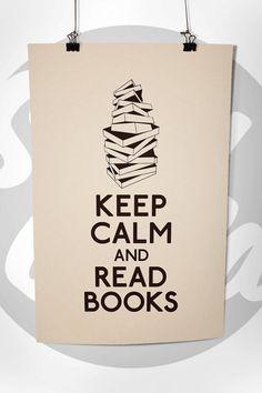 ...read books.