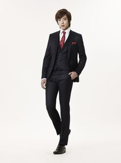 short, square waist coat  JUNG YONG HWA (C.N BLUE)