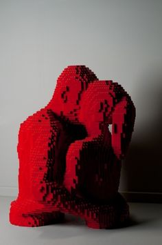 12 Works Of Art By The Michaelangelo Of Lego