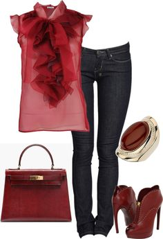 """Oxblood"" by quianashinae on Polyvore"