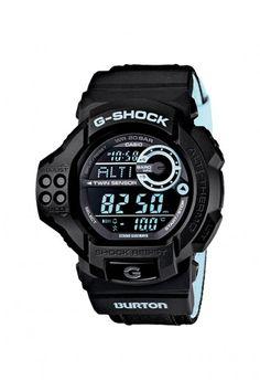 Casio G-Shock x Burton GDF100BTN-1 Watch - Black $300.00 #casio #gshock