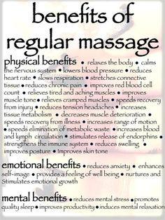 Health Benefits of Massage    https://www.sport-therapeutics.com/ @FIRSTCorvallis #FIRSTCorvallis