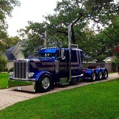 Big rig trucks on Pinterest | Peterbilt, Kenworth Trucks and Custom ...