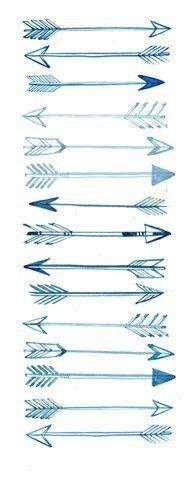 Arrow tatoo designs