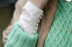 holiday outfits, detail cuff
