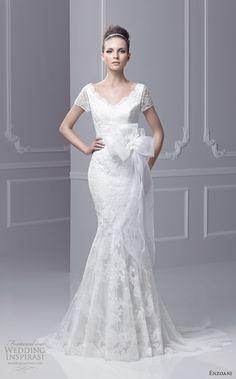 blue by enzoani bridal 2013 felda wedding dress short sleeves