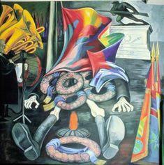 José Clemente Orozco - Modern Human Sacrifice