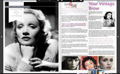 An article wriiten by Amanda fron Lipstick & Curls for Modern Vintage Magazine  www.lipstickandcurls.net