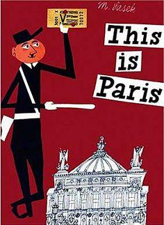 This is Paris by M.Sasek