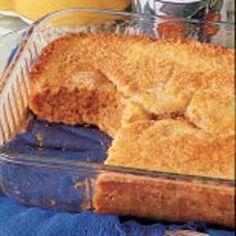 Magic Pumpkin Buckle - Recipes, Dinner Ideas, Healthy Recipes & Food Guide