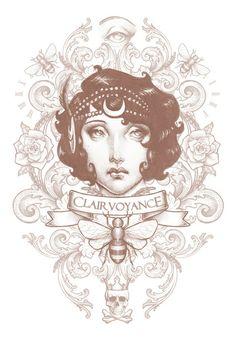 """Clairvoyance"" Art Print by Medusa Dollmaker on Society6"