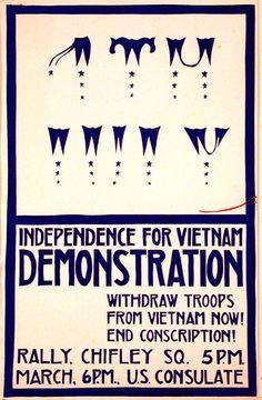 Anti Vietnam War poster