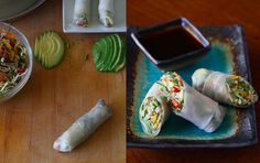 Ellen's fave spring rolls! Yes, please!
