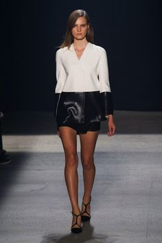 Our 10 Favorite Collections from New York Fashion Week: Narciso Rodriguez Who isn't feeling '90s minimalism right now, and who does that better than Narciso Rodriguez? We want to wear this collection ASAP.