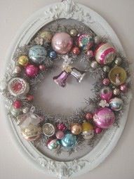 Shabby & vintage wreath