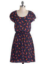 Dino My Gosh Dress | Mod Retro Vintage Dresses | ModCloth.com