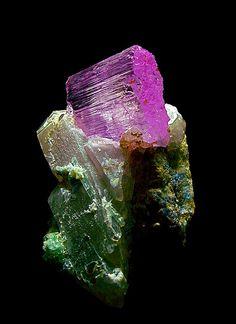 Kunzite, Fluorite Quartz