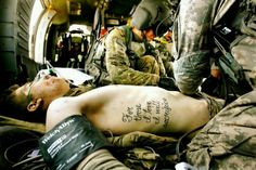 """For those I love I will sacrifice"". God blessed us with the strong and selfless men and women of our military."