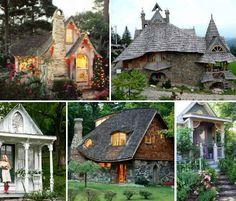 cottag theme, cottage houses, architectur, tini hous, dream