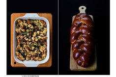 Kosher Challah Stuffing with Mushrooms and Hazelnuts by La Domestique