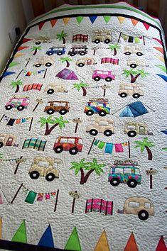 adorable camper quilt