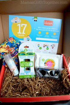 17 Month Bluum Box Review- Subscription Box for Baby & Mama