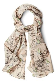 Up and Humming Scarf in Grey, #ModCloth