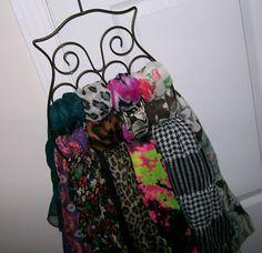 Owl Scarf Organizer - $9.99 from Bed Bath & Beyond