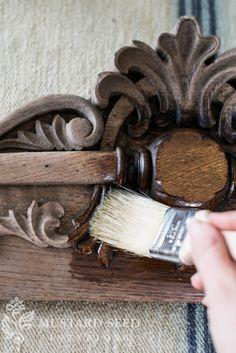 Reviving old wood wi