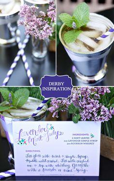 Lavender Mint Julep