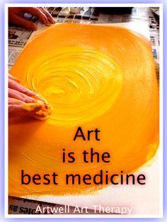 Art is the best medicine.