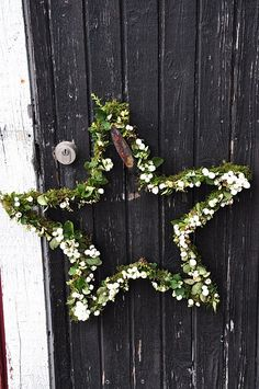 rustic holiday star
